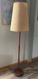 Teak Floor Lamp Mid Century Modern MCM Segmented  Torim Lites Canada