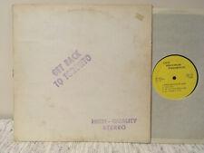 "The Beatles Bootleg vinyl LP  ""Get back Toronto"""