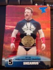 2013 Topps Best of WWE Top Ten World Heavyweight Champions #5 Sheamus