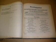 Sachsen 1890 Verordnungsblatt