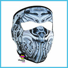 Robot Bio Mechanical Neoprene Face Mask Ski Snowboard Motorcycle Biker Black