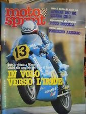 Motosprint 22 1982 Test Aprilia 250 RC - Gilera CB 1 - Gp Nazioni Franco Uncini