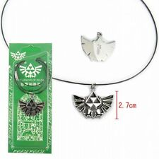 THE LEGEND OF ZELDA COLLANA NECKLACE LINK COSPLAY MINISH CAP OCARINE TIME WII DS