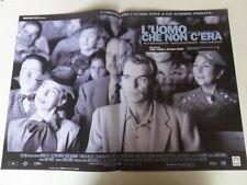 """#LOCANDINA FILM """"L'UOMO CHE NON C'ERA"""" (D)"""