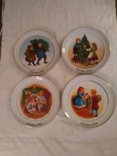 Vintage Avon Christmas Plates From 1981 to 1984