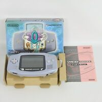 Gameboy Advance Console AGB-001 Boxed SUICUNE BLUE Pokemon Nintendo 1929 gba