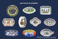 Feves  PERSO  ASSIETTES -  LES PLATS DE QUIMPER   FB2013  PP1512