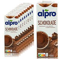 Alpro - 10 x Sojadrink Schoko 1 Liter - Schokolade Choco Soja Soya Drink