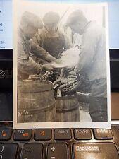CRINAN CANAL 1949 ERA ICONIC ORIGINAL FISHING TRAWLER INDUSTRY PHOTOGRAPH d