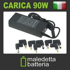 Caricabatterie alimentatore universale 90W TOSHIBA ACER ASUS SONY SAMSUNG