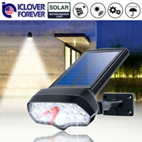 17LED Solar Lamp Outdoor Garden Yard Waterproof PIR Motion Sensor Security Light