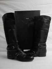 Dolce Vita Size 9.5 M Laila Black Leather Knee High Boots New Womens Shoes NWB