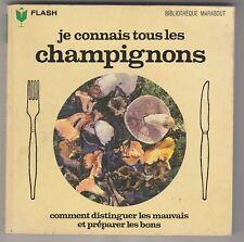 Marabout Flash 240 Je connais tous les champignons