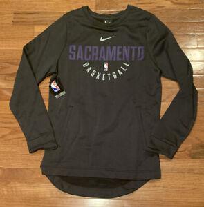 Men's Sacramento Kings Nike NBA Spotlight Performance Sweatshirt NWT Small