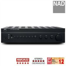 Nad c326bee STEREO AMPLIFICATORE pieno amplifier 2x 50 Watt GRAPHITE PowerDrive S + FB