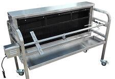HP-C CHARCOAL BBQ GRILL HOG ROAST LAMB SPIT ROAST ROTISSERIE VERTICAL