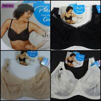 Playtex Love My Curves Amazing Shape Unlined Balconette Underwire Bra US4713