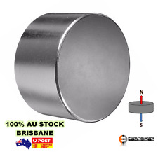 1x Powerful Rare Earth Disc Magnet 70mm x 40mm N48 | Super Neodymium Industrial