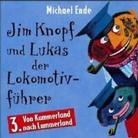 MICHAEL ENDE - JIM KNOPF UND LUKAS DER LOKOMOTIVFÜHRER,TEIL 3; CD HÖRSPIEL NEU