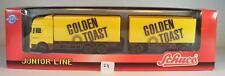 Schuco 1/87 23004 MAN f2000 hängerzug Golden Toast OVP #24