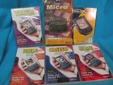 PALM PDA ACCESSORIES MICRO DATAPAD SCREEN PROTECTORS SOFTWARE LOT MOST ARE NEW