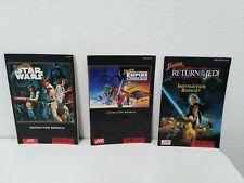 Super Star Wars Manual Lot