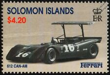 1968 FERRARI 612 Spider CAN-AM #16 Sports Motor Racing Car Stamp