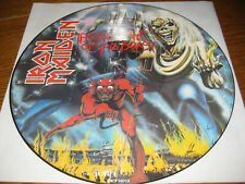 Iron Maiden-The number of the beast Picture-LP, EMI UK 1982, Original, mint/neu!