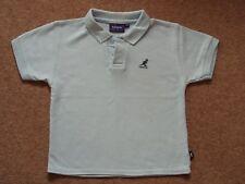 Boys Kangol Polo Shirt Pale Blue Age 5-6 years