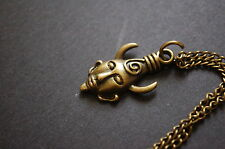 bronze supernatural amulet of protection necklace dean winchester