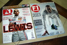 Lot (2) Formula F1 RACING Magazines w/ LEWIS HAMILTON (June 2007 & March 2013)
