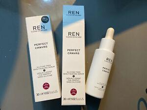 REN Perfect Canvas Skin Finishing Serum 30ml Primer Silicone Free NEW
