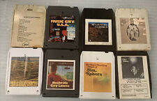 8 track Lot Country Works Tested Chico Holiday Statler Brothers 8x1 Auction Nice