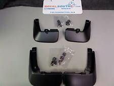 Genuine MAZDA 3 2014-2016 Front and Rear Splash Guard kit for 4 door models OEM