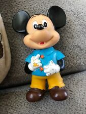 """Mickey Mouse Doll 7"""" tall by Walt Disney Productions Made In Japan"""