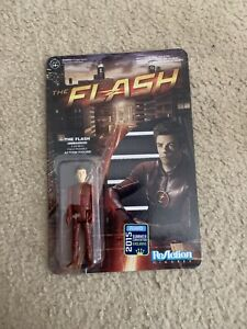 "New Funko ReAction Figure DC Comic SDCC Exclusive The Flash Unmasked 3 3/4"" 2015"