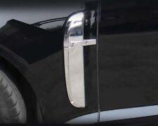 Jaguar XF XFR Fender Chrome Trim Overlay Finisher Set 2008 2009 2010 2011