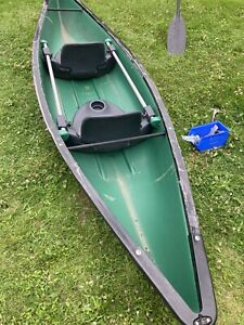 Two Person Kayak Canoe 13ft Green