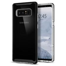 Spigen Samsung Galaxy Note 8 Neo Hybrid Crystal Clear Bumper Case TPU Cover Black