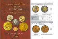 UNIFORM COINAGE OF INDIA 1835 1947 Catalogue Price List Paul Stevens Randy Weir