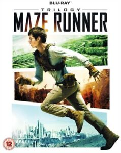 The Maze Runner Trilogy Blu-Ray 3 Discs
