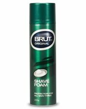 BEST PRICE! BRUT ORIGINAL SHAVE SHAVING FOAM CREAM ALL SKIN TYPE 250G FACE BEARD