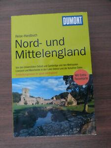 DUMONT Reiseführer für NORD- und MITTELENGLAND Oxford Cambribge NEUWERTIG