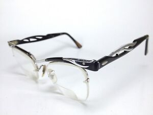 Bausch & Lomb B&L Prescription Eyeglasses 1/10 12 KGF 46-20 4 1/4 - 5 1/2 B2