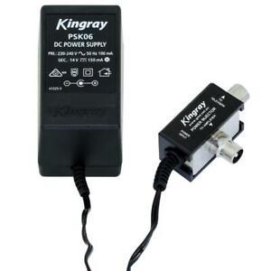 TV Power Supply 22V 14V 17.5V PAL Kingray for Signal Amplifier Booster Injector