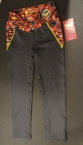New DC Comic Her Universe Wonder Woman Junior's Active Pants, XS X-Small, Zinfad