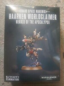 Haarken Worldclaimer, Herald of the Apocalypse. Warhammer 40k  free postage