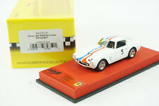 1/43 BBR FERRARI 250 SWB S/N 2209GT WHITE CAR #5 RED LEATHER BASE LE 20 PCS MR