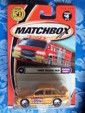 Matchbox Ford Falcon Taxi long card