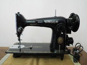 VINTAGE SINGER MODEL 201-2 SEWING MACHINE